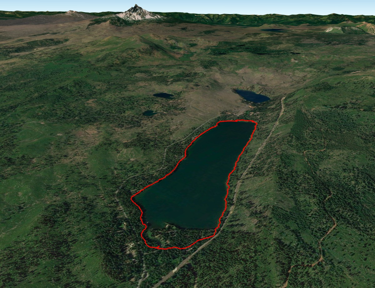 Suttle Lake Loop Overview Thumbnail